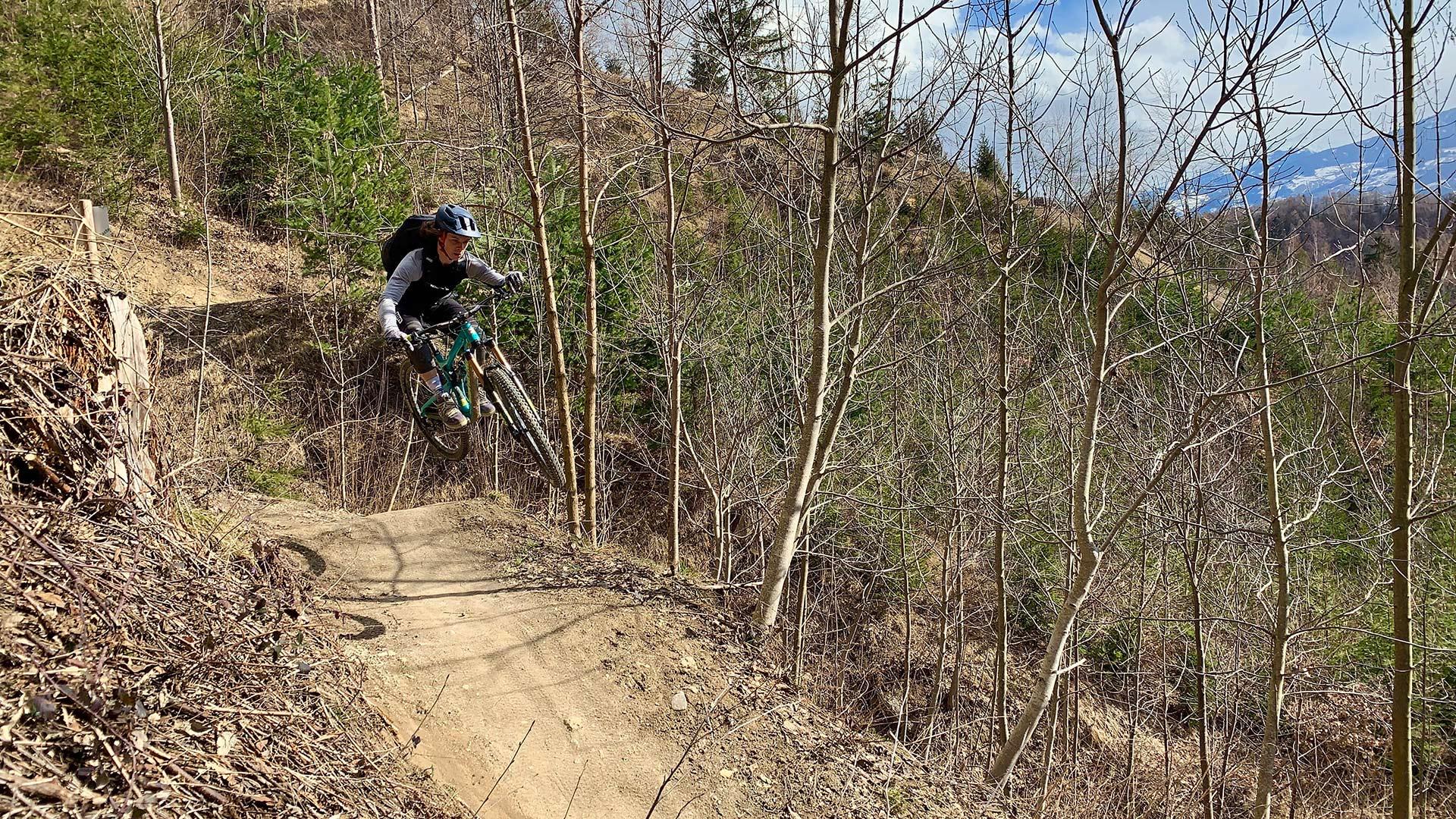 Zahlreiche Downhill-Strecken und Trails in Saalbach-Hinterglemm und Umgebung